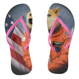 astronaut dog  - doge - shibe - doge memes thongs