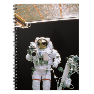 Astronaut Filming Note Book
