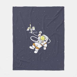 Astronaut Fleece Blanket