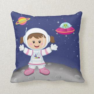 Astronaut girl cushion