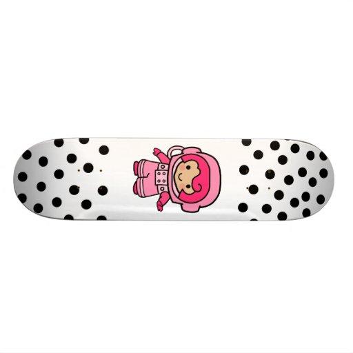 Astronaut Girl Skateboard