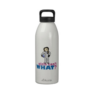 Astronaut Girl Reusable Water Bottles