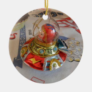 astronaut Glass Ornament on Idaho Vintage