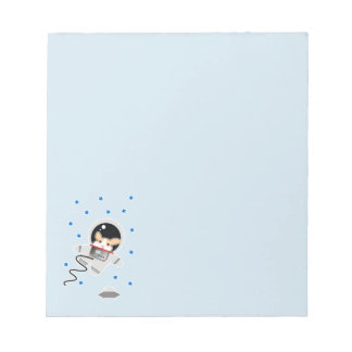 Astronaut Hamster Notepad