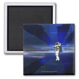 Astronaut in Space Refrigerator Magnet
