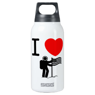 Astronaut Insulated Water Bottle