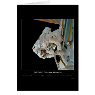 Astronaut Joseph R. Tanner outer space activity Card