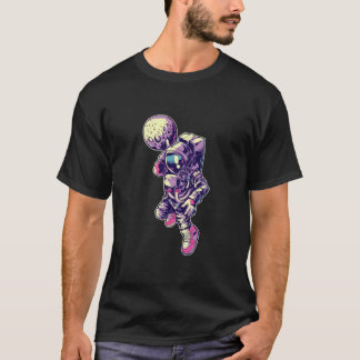 Astronaut Moon Dunk - NBA T-Shirt