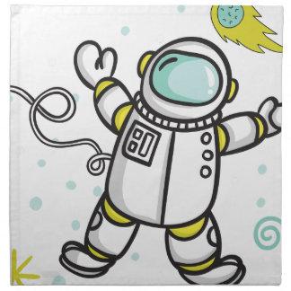 Astronaut Napkin