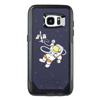 Astronaut OtterBox Samsung Galaxy S7 Edge Case