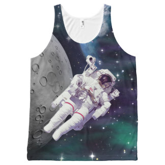 Astronaut - Outer Space All-Over Print Tank Top