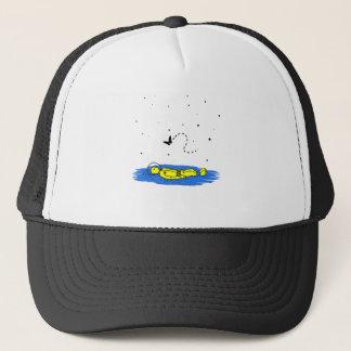 Astronaut - Permission to Land Trucker Hat