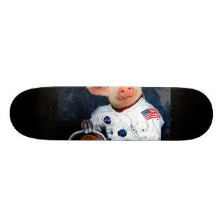 Astronaut pig - space astronaut 21.6 cm skateboard deck
