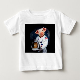 Astronaut pig - space astronaut baby T-Shirt