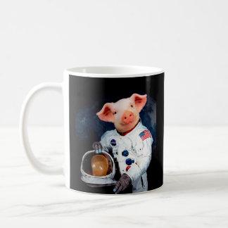Astronaut pig - space astronaut coffee mug