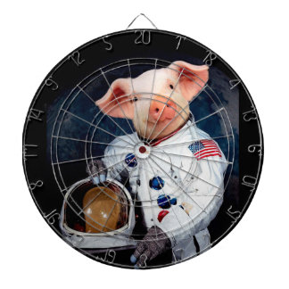 Astronaut pig - space astronaut dart boards