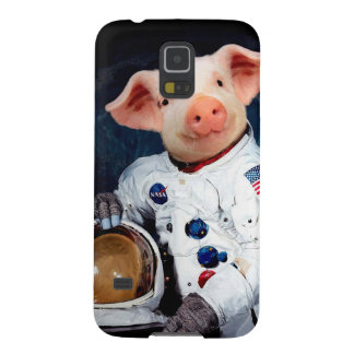 Astronaut pig - space astronaut galaxy s5 cover