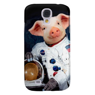 Astronaut pig - space astronaut samsung galaxy s4 cover
