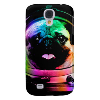 Astronaut pug - galaxy pug - pug space - pug art galaxy s4 case