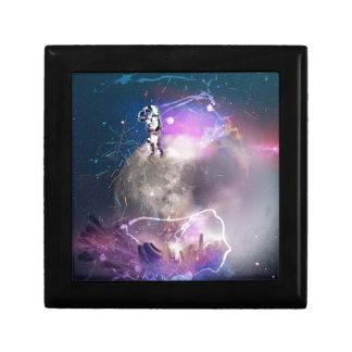 Astronaut Riding Super Nova Gift Box