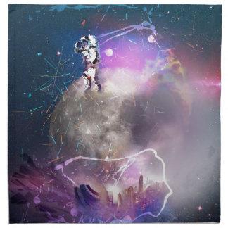 Astronaut Riding Super Nova Napkin
