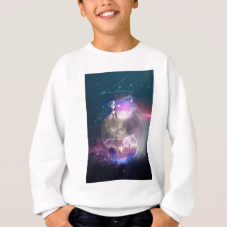 Astronaut Riding Super Nova Sweatshirt
