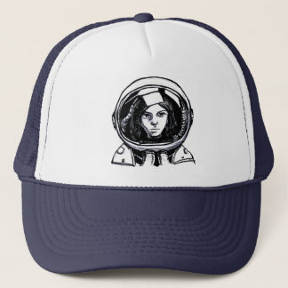 Astronaut rocks! trucker hat