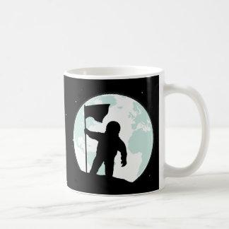 Astronaut Silhouette Coffee Mug
