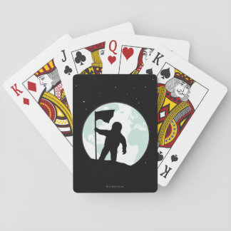Astronaut Silhouette Playing Cards