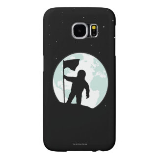 Astronaut Silhouette Samsung Galaxy S6 Cases