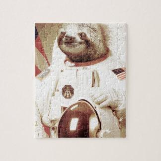 Astronaut Sloth Jigsaw Puzzle