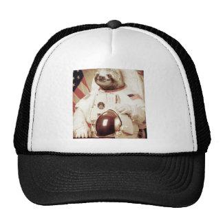 Astronaut Sloth Mesh Hats