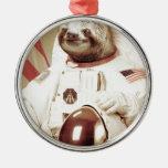 Astronaut Sloth Ornaments