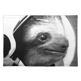 Astronaut Sloth Placemat