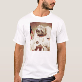 Astronaut Sloth T-Shirt
