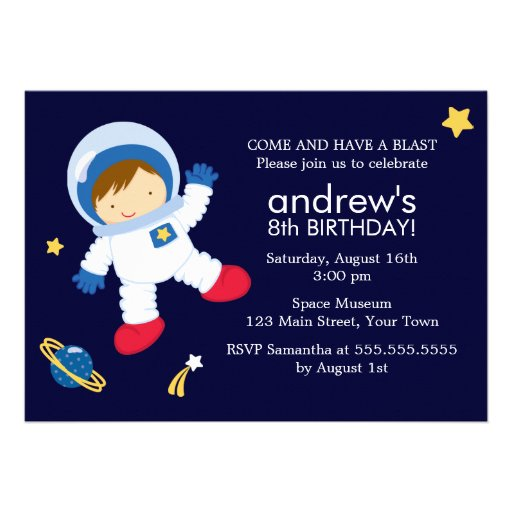 astronaut invitations - photo #29
