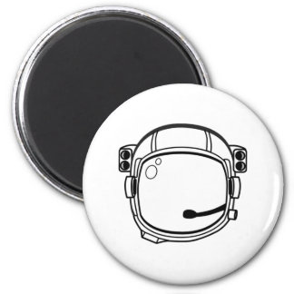 Astronaut Space Helmet Refrigerator Magnets