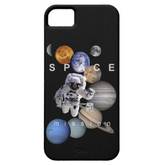 astronaut space mission solar system planets iPhone 5 covers
