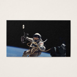 Astronaut Space Walk Business Card