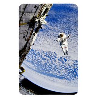 Astronaut Spacewalk Rectangular Photo Magnet