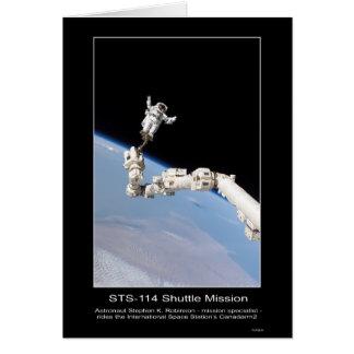 Astronaut Stephen K. Robinson  International Space Card