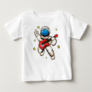 Astronaut victory gesture baby T-Shirt