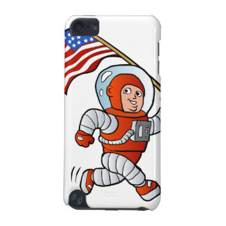 Astronaut with american flag iPod touch 5G case