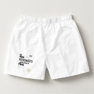 Astronauts are born in April Zg6v6 Boxers