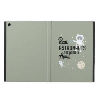 Astronauts are born in April Zg6v6 Cover For iPad Air