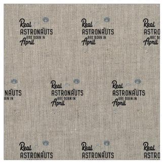 Astronauts are born in April Zg6v6 Fabric