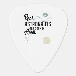 Astronauts are born in April Zg6v6 Guitar Pick