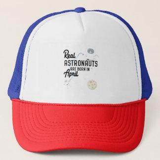Astronauts are born in April Zg6v6 Trucker Hat