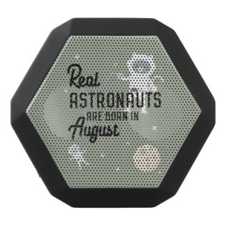 Astronauts are born in August Ztw1w Black Bluetooth Speaker