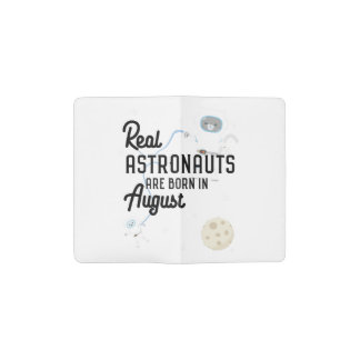 Astronauts are born in August Ztw1w Pocket Moleskine Notebook